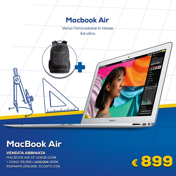 Euronics Codice Promo MacBook Air a €899