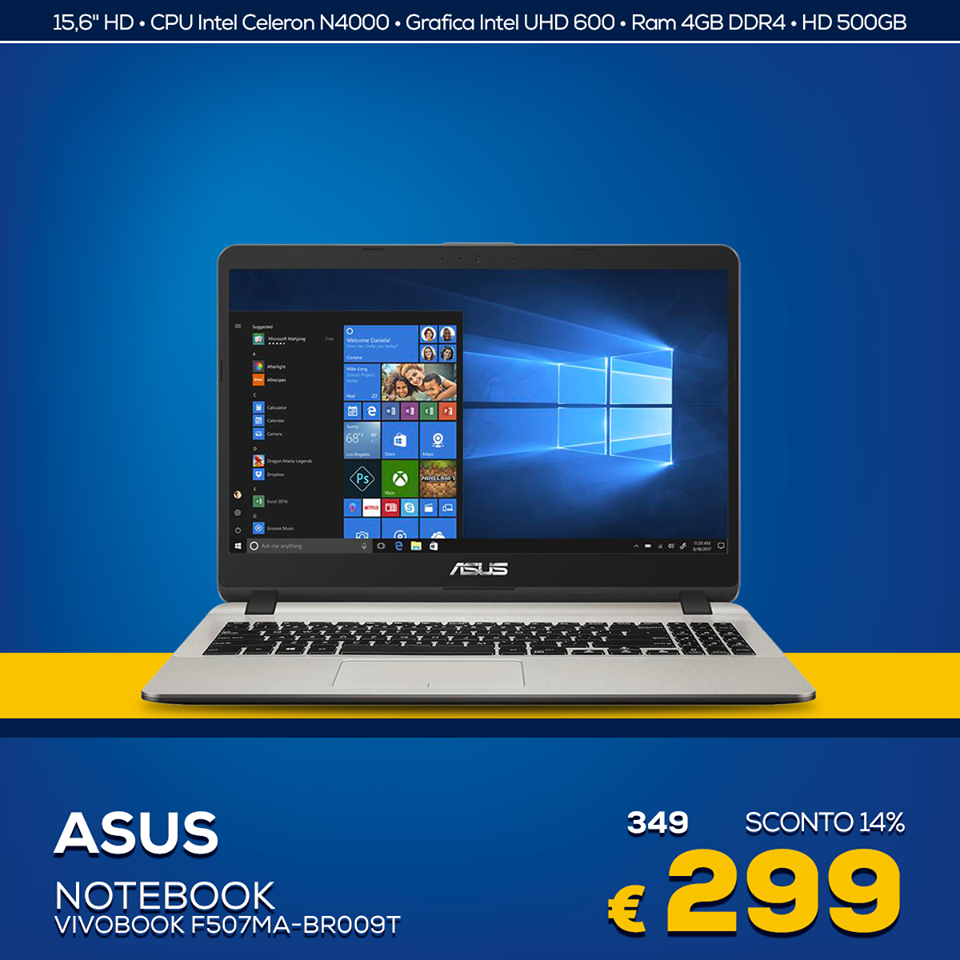 Euronics codice promo Notebook